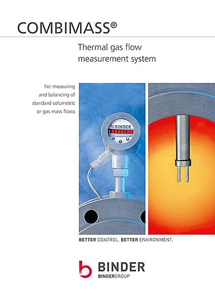 COMBIMASS Broschures of Thermal gas flow measurement system